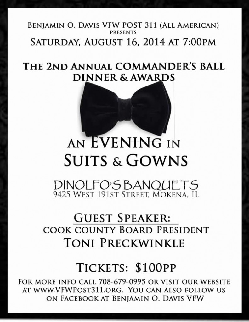 Post 311 Commander's Ball @ DiNolfo's Banquets | Mokena | Illinois | United States